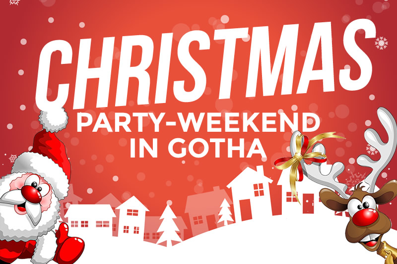 Christmas-Party-Weekend in Gotha